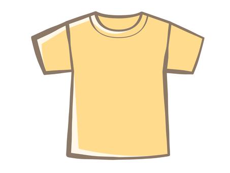 T-shirt-Yellow 190706