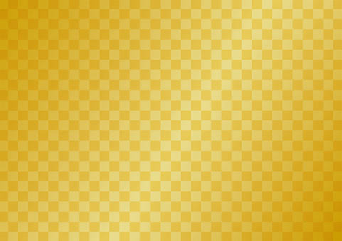 Gold folding screen background material (checkered pattern) New Year's card material etc.