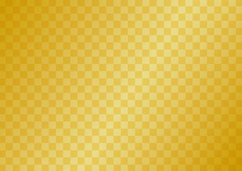 금 병풍 배경 소재 (바둑판) 연하장 소재 등에