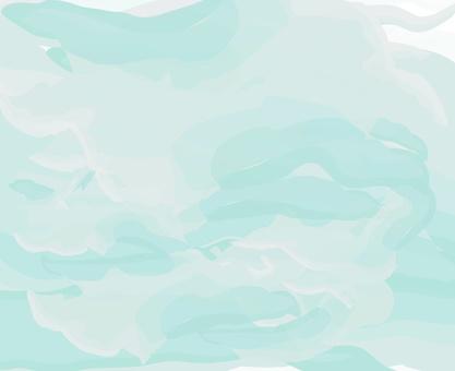 简单的颜色海