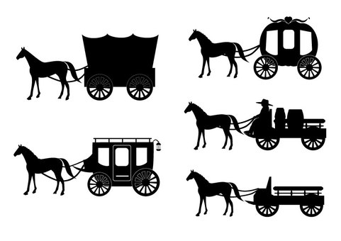 Carriage (silhouette set)