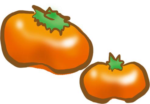 【The fruit store】 Autumn milk persimmon!