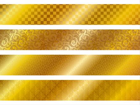 Frame _ Gold foil