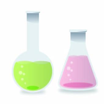 Illustration of flask