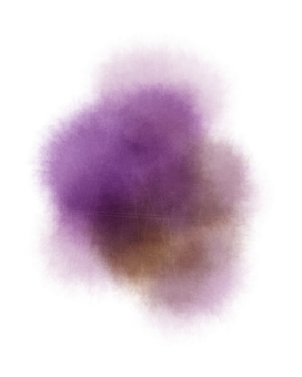 Abstract background (watercolor, scratched) purple / yellow