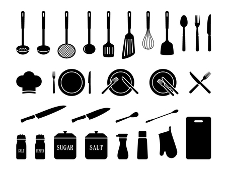 Kitchen set 1 Silhouette