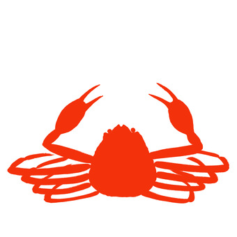 Crab illustration | Free material