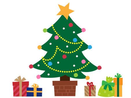 聖誕樹和禮物