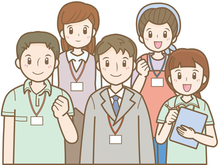 Long-term care staff G