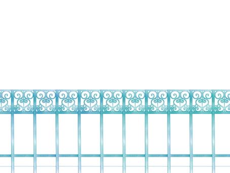 Romantic fence