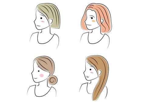 Woman _ profile