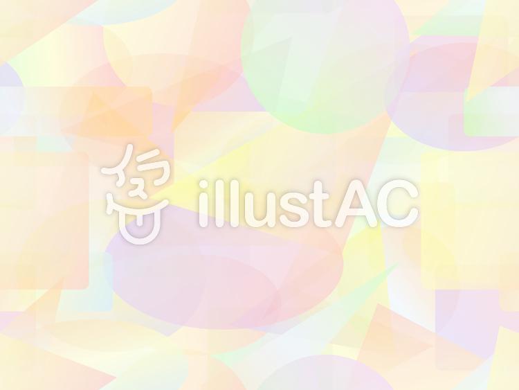 パステル調のカラフルな短形パターン3a