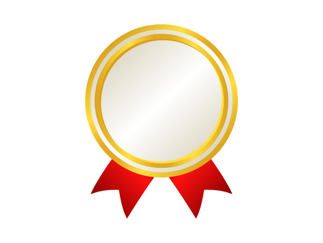 Medal Icon 9 Gold (White)