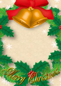 【Frame】 Christmas card 02