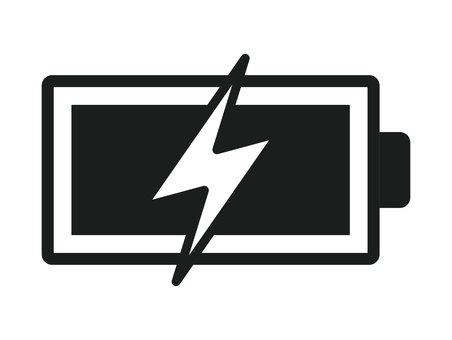 Battery icon charging