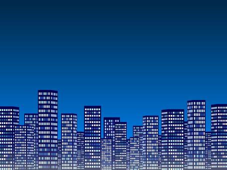 Night view (blue)