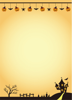 Halloween A4 background 2