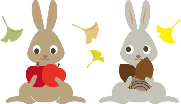 Animals (C_ and rabbits and fruits 01)