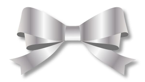 Double ribbon silver 1