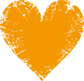 Heart _ Scratch _ Orange