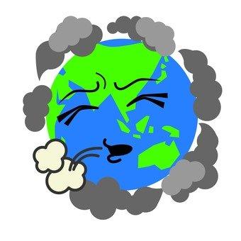 환경 파괴 된 다우