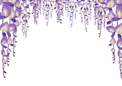 등나무 꽃 아치