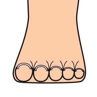 Open foot