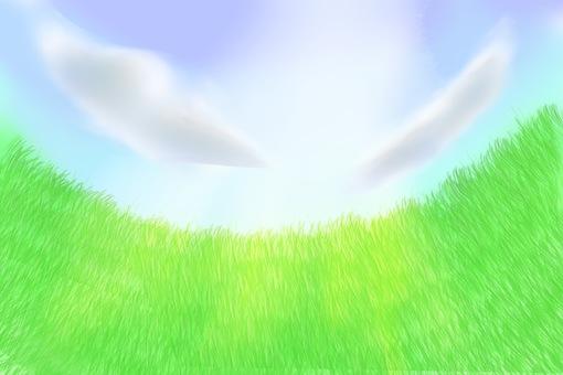 반원의 초원