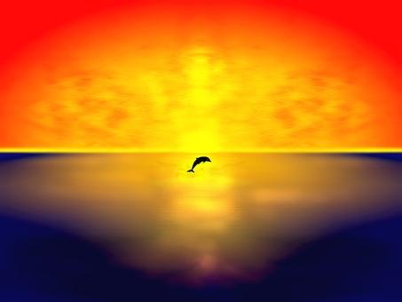 Dolphin jump E0178