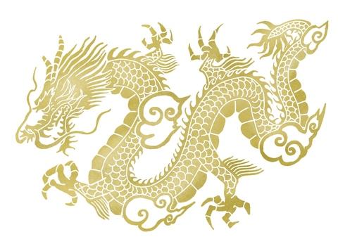 中国式龙纹