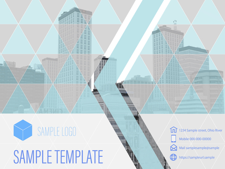 Business Template Building City Photo Example 3