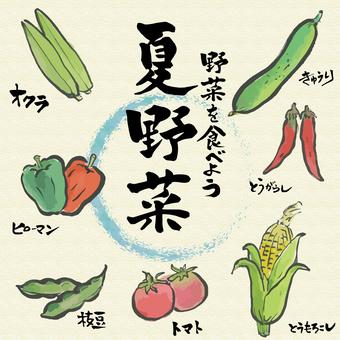 여름 야채