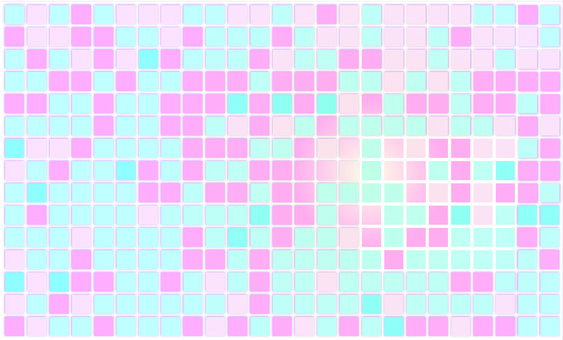 Pastel color tiles