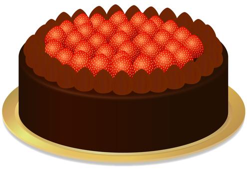 Cake / chocolate