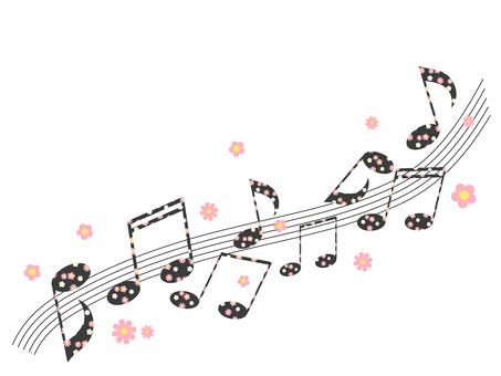 꽃 무늬 노트 03