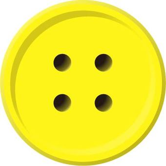 Four-hole button (yellow)