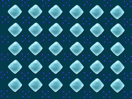 Glass Argyle Blue
