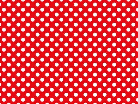 Dot pattern (red)