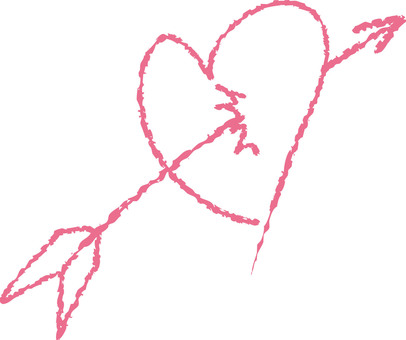 Heart with arrows (pink)