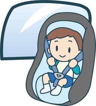 Child seat boy