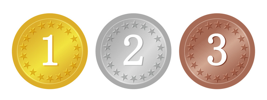 メダル 金銀銅 順位