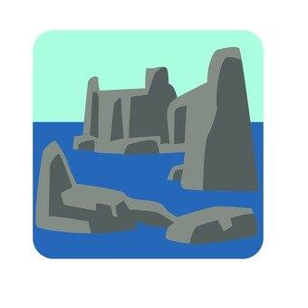 Ocean and rock 2