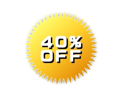 40 % offpop