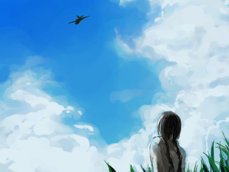 오키나와의 하늘