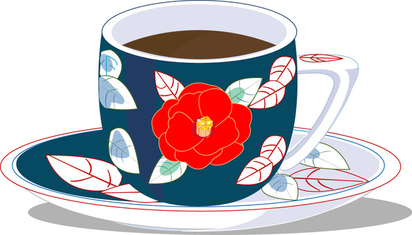 Japanese style coffee cup