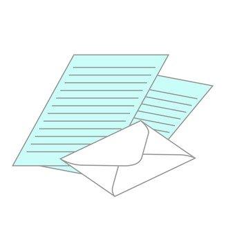 편지지와 봉투