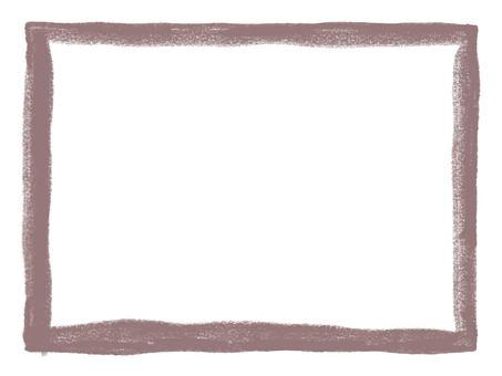 Hand drawn line frame