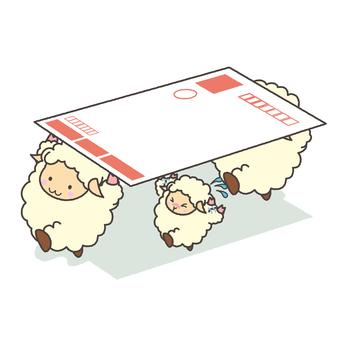 Akobi and sheep