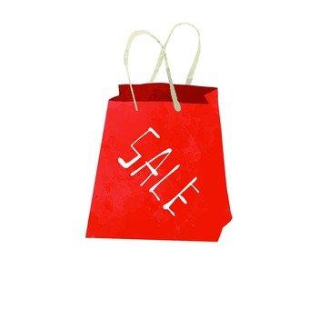 Sale paper bag