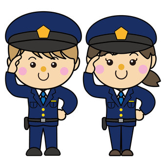 Male and female 32_01 (Police officer)